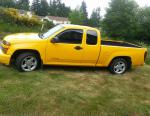 Chevrolet Colorado Extended Cab model 2012