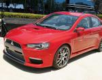 Mitsubishi Lancer X tuning sedan