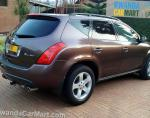 Murano Nissan model hatchback