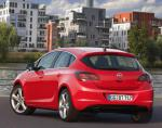 Astra J Hatchback Opel model 2014