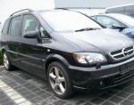 Zafira B Opel how mach 2013