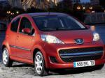 Peugeot 107 5 doors Specification 2010