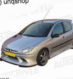 Peugeot 206 5 doors prices hatchback