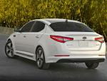 KIA Optima Hybrid configuration 2009