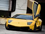 Lamborghini Murcielago LP 670-4 SuperVeloce parts hatchback