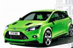 Ford Focus RS configuration sedan