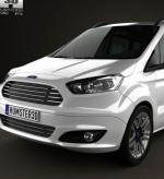 Ford Tourneo Courier Specifications 2010