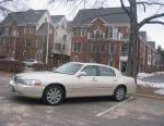 Lincoln Town Car model 2012
