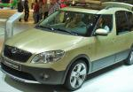 Roomster Scout Skoda reviews 2006