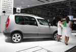 Skoda Roomster Scout Characteristics 2008