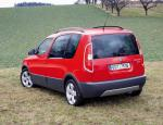 Roomster Scout Skoda auto suv