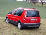 Skoda Roomster Scout auto minivan