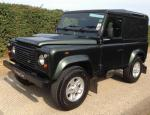 90 Hard Top Land Rover how mach suv