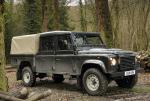 Land Rover 130 Double Cab Pick Up specs 2013