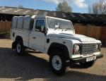 110 High Capacity Pick Up Land Rover models 2012