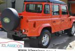 110 High Capacity Pick Up Land Rover prices suv