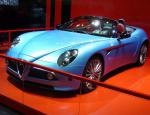 8C Spider Alfa Romeo Specifications 2013