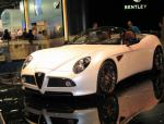 Alfa Romeo 8C Spider model sedan
