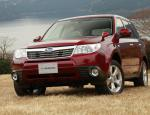 Subaru Forester approved 2014