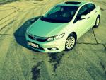 Civic 4D Honda review 2012
