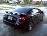 Honda Civic Coupe Characteristics 2010